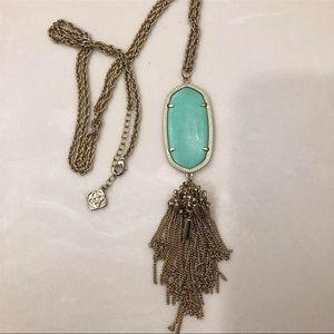Kendra Scott tassel pendant necklace